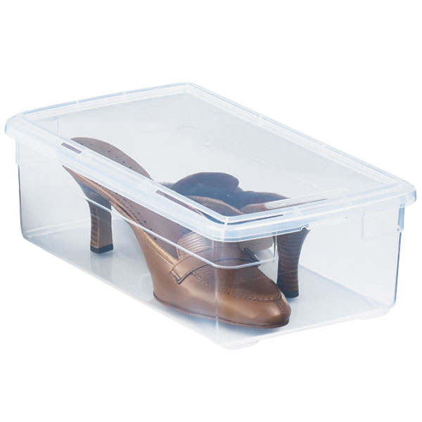 Container Store Plastic Shoe Boxes